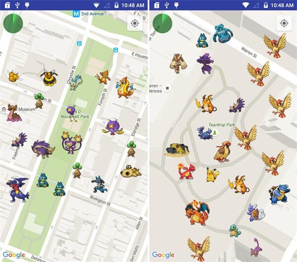 Pokemon mit Scanner einfangen