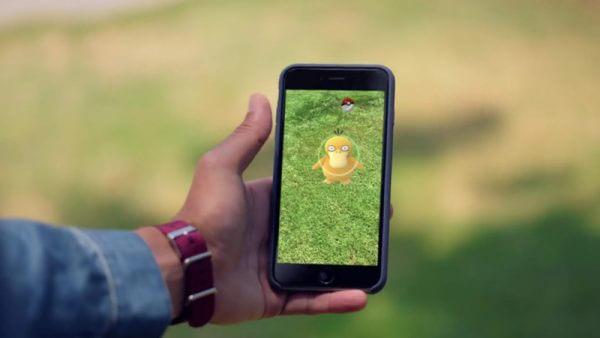 catching pokemon go