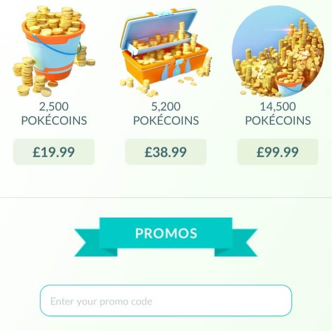 Inserisci il codice promozionale di Pokemon Go e ottieni i premi
