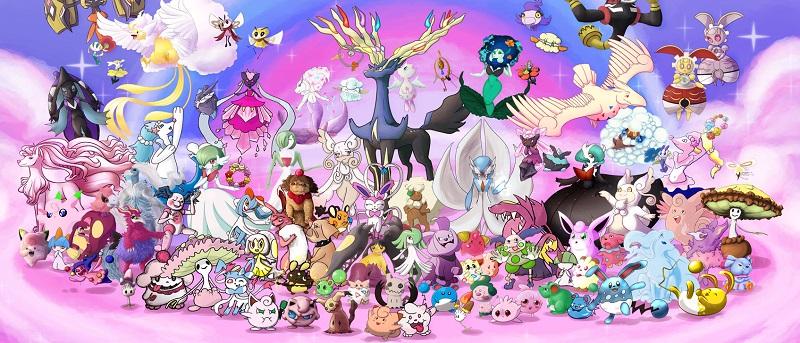 fairy pokemons banner
