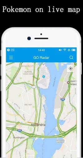 go radar pokemon scanner