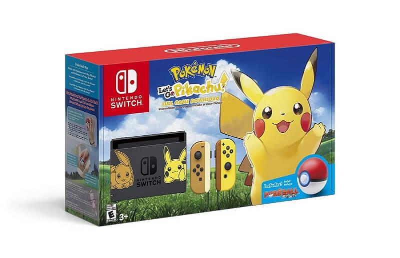 lets go pikachu console nintendo