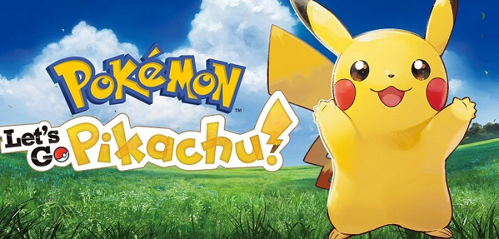 lets go pikachu pokemon
