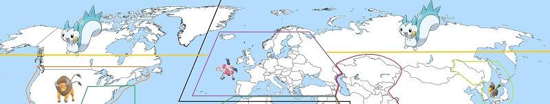 pachirisu regional map