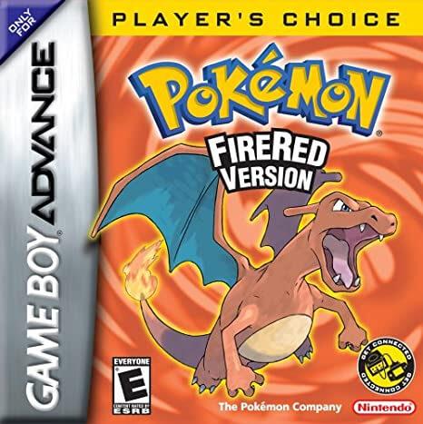 Game Boy Advance version of Pokémon Fire Red