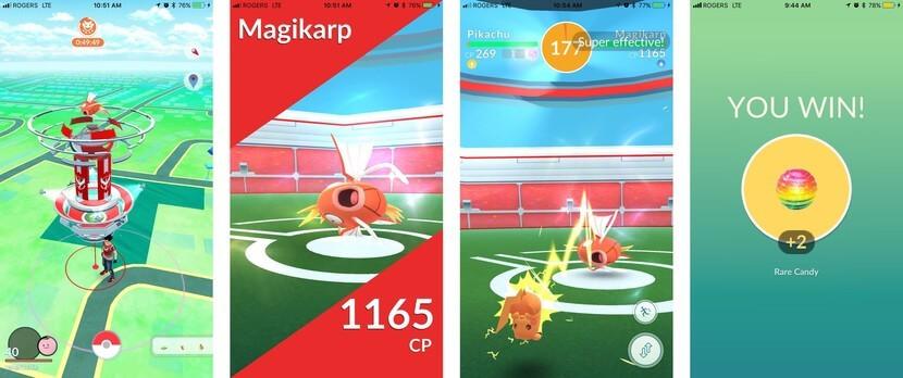 Get Rare Pokémon Candy in a Pokémon Raid Battle