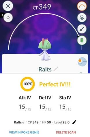 pokemon go coordinates ralts