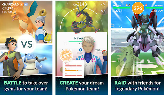 pokemon go features