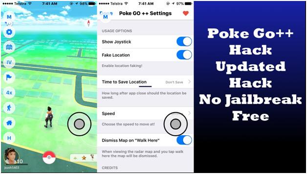pokemon go hack on ios 10