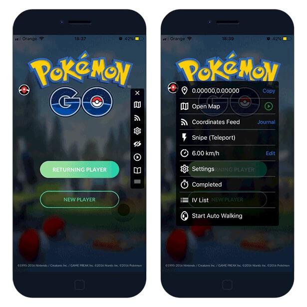 iSpoofer for Pokémon go
