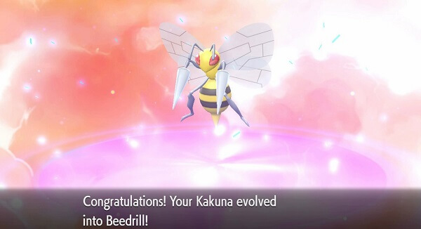 pokemon kauna beedrill evolution