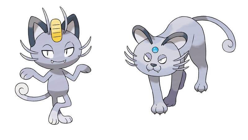 pokemon meowth evolution