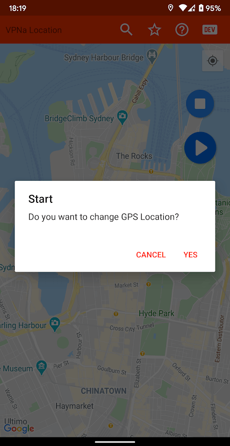Mock GPS Go screenshot
