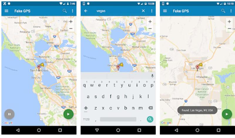 android snapchat fake gps app